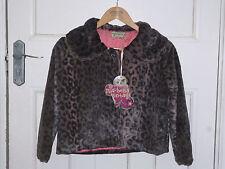 Bnwt mal se comporter de taille 10 court fourrure leopard pour femme/veste fille next day post