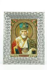 St Nicholas  Russian Orthodox Travel Protection Icon Святой Николай Ikone