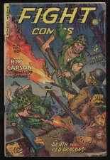 Fight Comics #82 G/VG CR/OW Pgs