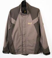 JACK WOLFSKSKIN Texapore Jacket Mens L Hooded Rain Coat Waterproof UK 40/42