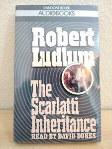 The Scarlatti Inheritance Robert Ludlum Random House Audiobooks Cassettes Sealed