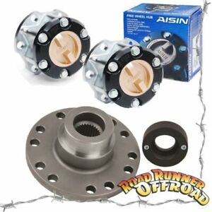 Part Time 4wd Conversion kit With AISIN HUBS fits Toyota 80 Series  1990 to 03/1