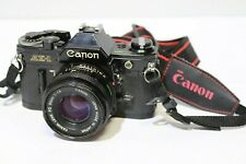 CANON AE-1 SLR 35mm CAMERA with Canon 50mm Lens - 232