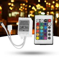 24 Key IR Remote Controller DC 12V for RGB LED 3528 5050 Strip Light