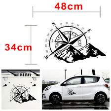 48x34cm Compass Totem Decal Sticker Waterproof For Car Hood/Door/Rear Windshield(Fits: More than one vehicle)
