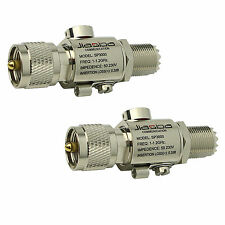 2* Newest SP3000 Protector Lighting Arrester PL259/SL16 Coaxial Surge Protector