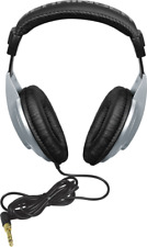 Behringer HPM1000 Multi Purpose Audio Music High Dynamic Headphones Silver/Black