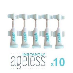 INSTANTLY AGELESS™ •NEW RESEALABLE VIALS .6ml x10•FREE POST📮AUTHENTIC JEUNESSE✅
