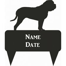 Mastiff Rectangular Memorial Plaque