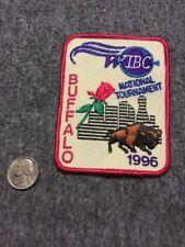Vintage Wibc Buffalo National 1996 Tournament Bowling Patch Mint