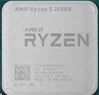 AMD Ryzen 5 2500X CPU Quad-Core 3.6 GHz 8MB 65W Socket AM4 Processor R5-2500X