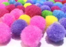 50 pcs Pompoms 20mm for Craft Making and Hobby Supplies Assorted Colors for DIY