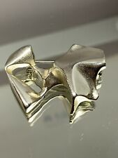 Lapponia By Designer Bjorn Weckstrom Brooch 925 Sterling Silver Pin 16 Grams HTF