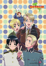 Hetalia Axis Powers Group w/ Polka Dots Poster Wall Scroll (27.8 x 19.7 inches)