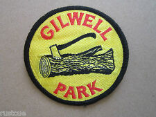 Gilwell Park Woven Cloth Patch Badge Boy Scouts Scouting
