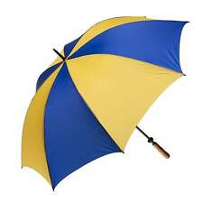 Clifton Albatross Golf Burgundy Royal Yellow Windproof Umbrella