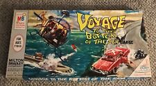 VOYAGE TO THE BOTTOM OF THE SEA  BOARD GAME  MILTON BRADLEY  1964  UNCUT