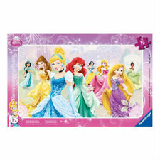 Puzzle Cadre 15 Pièces nos Princesses Favorites (12602)