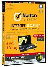 Norton Internet Security 2018,2019 -1Y-3PC License Activation Key