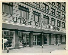 1959 Utah Oil Building Salt Lake City Original News Service Photo