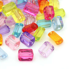 200 Mixte Perles intercalaire Acrylique Losange 11x9mm B21897
