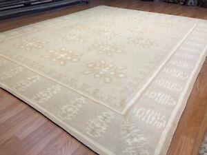 Delightful Dhurrie - Tribal Flatweave Rug - Indian Carpet - 8 x 10 ft