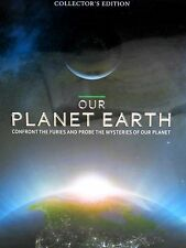 Our Planet Earth Collectors BOX, 5 Disc Tin box, 4 DVD 1CD,SOLAR,CLIMATE, AFRICA