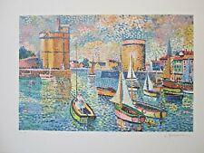 Lucien Neuquelman, Original Color Lithograph S/N. Ltd. Ed.