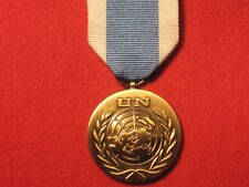 FULL SIZE UNITED NATIONS SPECIAL SERVICE MEDAL WITH RIBBON