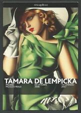 Tamara De Lempicka : Cartolina invito per la Mostra a Milano del 2006