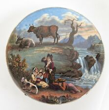 Pot lid. 'The Waterfall' No.365