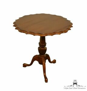 """LEXINGTON FURNITURE Solid Cherry Traditional 25"""" Pie Crust Gueridon Accent Ta..."""