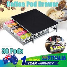 36 Dolce Gusto Coffee Pod Capsule Stand Holder Drawer Organiser For NESPRESSO