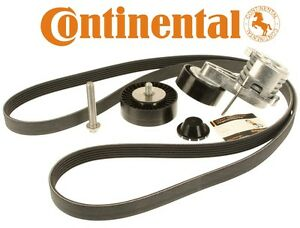 For BMW Serpentine Belt Accessory Drive Component Kit OEM Continental ADK0022P
