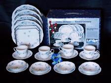 20 Pc JOHANN HAVILAND BAVARIA GERMANY BLUE GARLAND 20 pieces set In Box