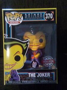 SPECIAL EDITION FUNKO POP! BATMAN - THE JOKER #370 (BLACKLIGHT GLOW)