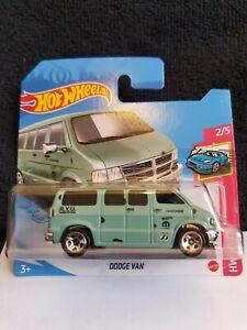 Hot Wheels 2021 Dodge Van *50/250 HW Drift *2/5 GRX21 Short Card