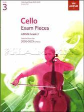 Cello Exam Pieces 2020-2023 Grade 3 Score & Part ABRSM Tests SAME DAY DISPATCH