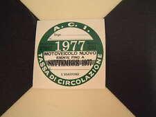 Imposta ITALIANO DISCO 1977-FIAT 500 600 126 LANCIA BETA GIULIETTA ALFA GTV6 ABARTH