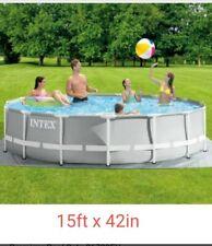 Brand New Prism Intex 15ft x 42 pool