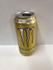 Monster Energy Ultra Citron 16oz Can. Rare Discontinued Can.