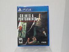 Crime & Punishments Sherlock Homes  (Sony PlayStation 4) BRAND NEW