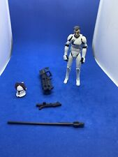 2009 Clone Wars Star Wars Echo Trooper Action Figure 100% Complete Hasbro CW17