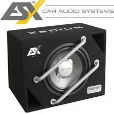 ESX XE-250 Basskiste Bassreflex System Bassbox mit 25cm Subwoofer 500Watt