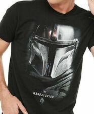 New Licensed Star Wars The Mandalorian TV Series Helmet Symbol T-Shirt S-2XL