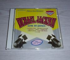 "MICHAEL JACKSON "" LIVE IN JAPAN "" CD (1991)"