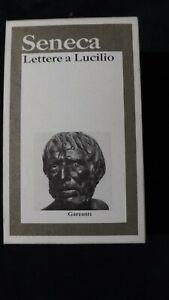 Seneca Lettere a Lucilio  Testo latino a fronte  BUR  1999 2 voll cofanetto