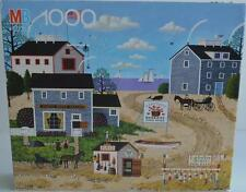 1989 MB Lobster Buoys For Sale by Charles Wysocki's 1000 pc Puzzle Nantucket New