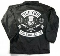 Slayer TRIBE Heavy Metal Band Windbreaker Jacket NWT Licensed & Official