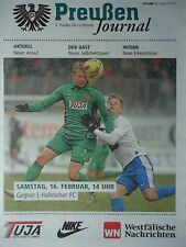 Programm 2012/13 SC Preußen Münster - Hallescher FC